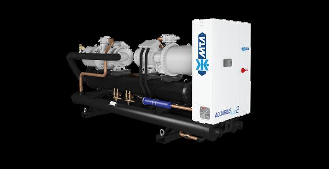 MTA Aquarius Tech 469 – 1846 kW vannkjølt isvannsmaskin