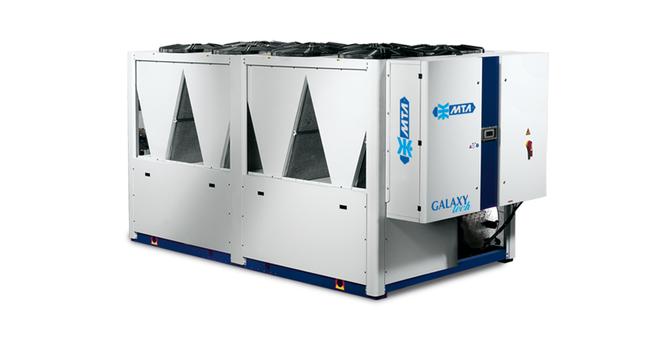 MTA Galaxy Tech 450 – 1349 kW Luftkjølt isvannsmaskin