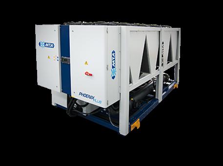 MTA Phoenix Tech 451 – 1590 kW. Luftkjølt isvannsmaskin