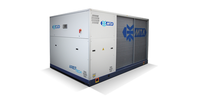 MTA Aries Tech 230-469 kW luftkjølt isvannsmaskin